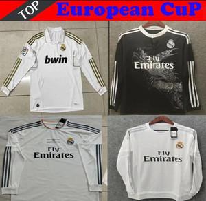 2012 2006 verdadeira camisa de futebol madrid longo retro 2015 2016 2017 ZIDANE BECKHAM RONALDO 13 14 CARLOS RAUL 2013 2014 2011 2012