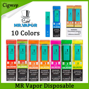 MR Dampf Einweg-Vape-Gerät-Pod-Starter-Kit 280mAh-Batterie 1.3ml-Patrone 400+ Puffs Vape Leer Pen