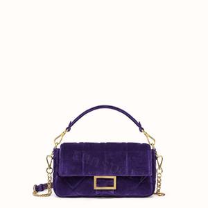 Fashion bags 2019 velvet designer bag FF suede High quality brand lady bags handbags luxury women f crossbody bags 3 colors 26cm
