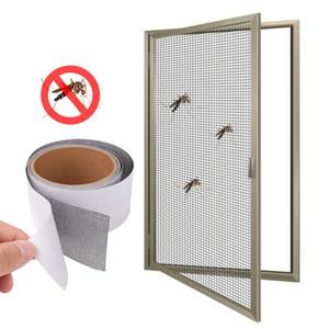 Anti-sivrisinek Örgü Yapışkan Teller Yama 5 * 200 cm tamir bant Yaz Ekran Pencere kapı Sivrisinek Netleştirme Yama Onarım Kırık Delikler