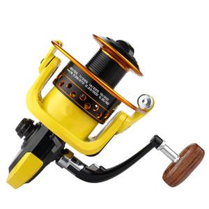 Bobine de pêche en métal YUYU Bobine en métal Bobine en métal 500 1000 2000 3000 4000 5000 6000 7000 12BB Ratio 5.2: 1 Attirail de pêche