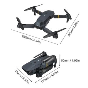 X88 Wifi FPV Foldable RC Drone with HD Camera Altitude Hold Headless Mode RC Helicopter Aircraft Airplane Toys