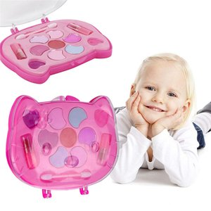 Toys For Girls Fashion Girl Pretend Play Toy Princess Makeup Palette Plaything Set For Kids NON TOXIC Lovely Cosmetic Case Toy