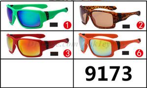 Hombres camiseta clásica Lentes de sol de conducción Ejecución de alpinismo gafas de sol de moda UV400 gafas de espejo Montar 9173 Sun Glasse