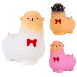 2018 neue Art und Weise nette Jumbo Alpaka Creme Duft Squishy Spielzeug Langsam Rising Squeeze-Bügel-Kind-Geschenk Fun 3 Farben