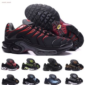New tn plus Men Running Shoes 2020 KPU Materia Size 13 Mens Trainers Cushion Tn Red Yellow Black des chaussures Man Sports Sneakers