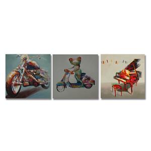 DYC 10057 3PCS Animals Print Art Ready to Hang Paintings