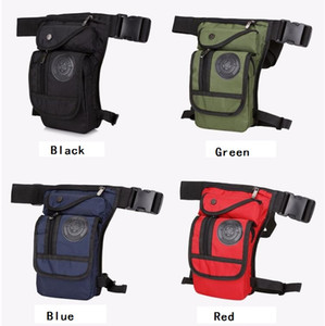 Sports de plein air Sac multifonctionnel voyage équitation tactique de jambe hommes femmes Canvas Drop Leg Sac Taille Fanny Pack Ceinture Hip Bum Tactical Packs