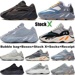 700 Runner 2020 Nueva Kanye West malva para hombre de la onda mujeres atléticas mejores 700S Calidad Deportes que funcionan con las zapatillas de deporte zapatos de diseño con la caja