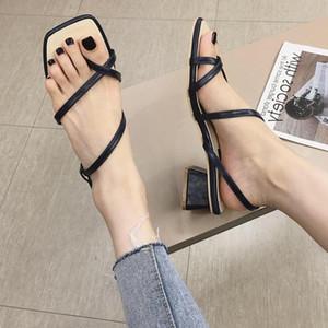 Current2019 Woman Sandals Toe Joker Strange Fairy Wind Tender With Rome Shoe