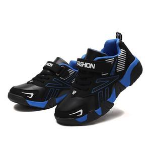 ULKNN بنين أحذية الخريف تلميذ جديد الاحذية الطلاب أحذية رياضية للأطفال عارضة الاطفال كبيرة أحذية رياضية حجم 28-38