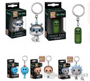 LXH Brandnew 2020 nouvelle Funko Pocket POP Keychain - Rick et Morty bande dessinée Vinyl Figure Toy Box avec porte-clés Cadeau Bonne Qualité Livraison gratuite