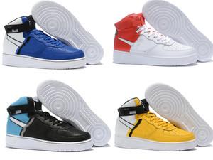 Nike Air Force 1 AF Chaussures Fly one shoes white Classic Free Run Classique Hi Haut et bas Blanc Noir Blé Hommes Femmes Baskets de sport Chaussures de course Forcingg 1