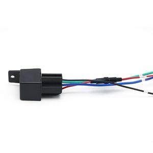 Mini Hidden Menor mini gps tracker veículo LK720 parar motor ou poder gps dispositivo de rastreamento gps carro de rastreamento