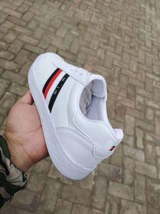 36-44 남여 패션 캐주얼 신발 남녀 통기성 경량 플랫 걷기 구두 JEANS brand women 's shoes