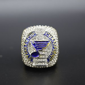The Office Design 2018 2019 St.Louis Blues championship ring Stanley Cup Sport Fan Men Gift 2020 Drop Shipping