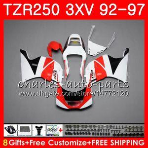 Кузов Для YAMAHA TZR 250 TZR250 3XV 92 93 94 95 96 97 YPVS RS 119HM.94 TZR250RR TZR-250 1992 1993 1994 1995 1996 1997 черный белый новый обтекатель