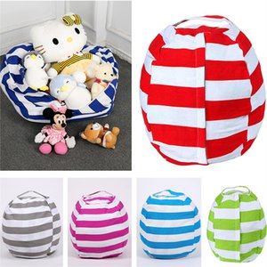 Children Large Canvas Plush Toys Storage Bags Household Items Storage Top Quality Large Capacity Spherical with Handle Zipper Gift Top Sale