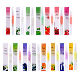 Nail Nutrition Oil Pen Traitement de l'ongle Revitalizer Oil Cuticle Prevent Agnail Gel pour les ongles Polish Nourish Skin 15 styles