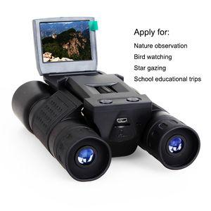 Free Shipping 10*25 Zoom Binocular 720P digital Camcorder 2'' TFT video camera BD318 Outdoor Telescope Hunting Camera
