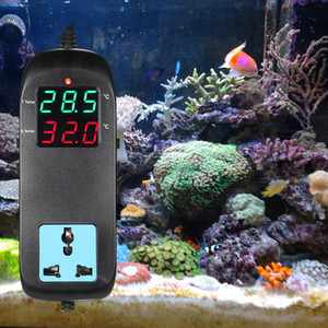 Digital LED Temperature Controller Thermostat Thermometer Control Switch Sensor Meter Probe For Water Aquarium & Breeding