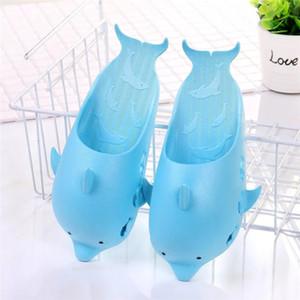 2019 senhoras animais golfinhos chinelos sandálias dos homens verão sapatos de praia fora engraçadas amantes chão do banheiro Chinelo