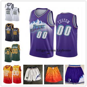 Özel Donovan 45 Mitchell Rudy 27 Göbert Joe 2 Ingles UtahCaz Şort Bojan Bogdanovic 44 00 Clarkson Özelleştirilmiş Basketbol Formalar