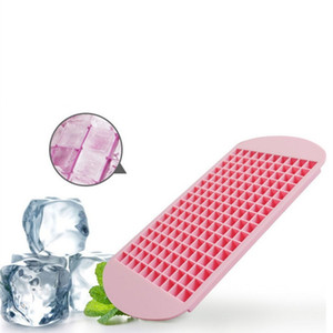 new Ice Maker Mold 160 Grid Cube Silicone Ice Cube Mould Drinking Wine Beverage Ice Cream Tools Kitchen Tools T2I51059