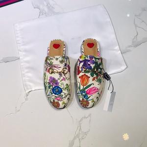 Merrans pour hommes Chaussures Princetown Fashion Impression Mules Diaposiches Chaussons Chaussures Plateaux Chaussures Casual Chaussures Femmes Hommes Fourrure Pantoufles US 5-12