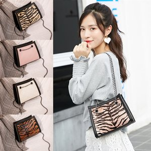 New Women Bag handbag 5 style PU leather ladies hand bags Single shoulder Chain Small Square bag Designer cross body bag JJ49
