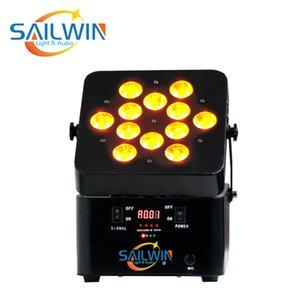 CHINA SAILWIN 6IN1 RGBAW + UV V12 Аккумулятор Встроенный беспроводной LED Par можно использовать для STUDIO EVENT