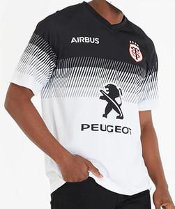 2020 Tolosa casa rugby Jersey 2019 Stade Toulousain Toulouse Rugby League maglie in jersey Tluth dimensione sportiva della camicia per il tempo libero SM-3XL (può stampare)