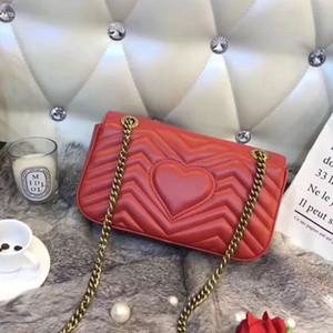 디자이너 고전 인간형 퀼팅 체인 가방 여성 PU 메신저 가방 핸드백