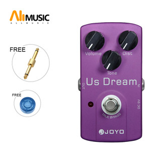 JOYO US DREAM JF-34 Overdrive Distortion Guitar Effect Pedal Purple