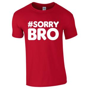 Niños adultos unisex #SORRY BRO Ben Elliot Phillips Youtube regalo camiseta tee Nueva moda de algodón de manga corta camiseta