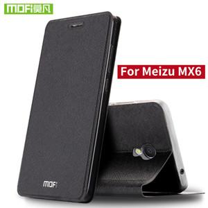 Per Meizu MX6 Custodia Per Meizu MX6 cover in silicone di lusso in pelle flip originale mofi 360 antiurto Per Meizu MX6 fundas