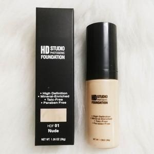 NYX HD Studio Fotogenico Foundation Powder Concealer Makeup NYX Liquid Face Make up 6 colori 1.26 OZ 36g Cosmetici DHL spedizione gratuita