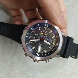13Tim Top Quality Mens Watch Orologi di Lusso 3714 di cuoio di lusso orologi al quarzo per gli uomini di sesso maschile Portugieser Guarda Relogio Masculino