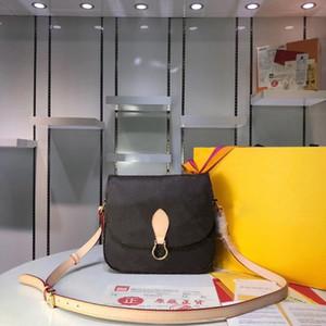 Originale di design di lusso di alta qualità Borse Purses LU Santi cloud flip Borsa di marca delle donne del Tote del postino della confezione borse a spalla di cuoio reali