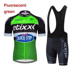 2020 Etixx Ropa Ciclismo / ciclo Ropa Ciclismo Deportiva / bicicleta De Carreras Ciclismo Jersey 9D Trägerhose
