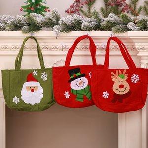 Christma Candy Bag Decorazioni di Natale squisite per la casa Regalo di Capodanno Pacchetto Sacchetti regalo di Babbo Natale bp206