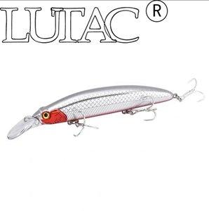 Lutac Big Minnow Fishing Lures artificial GM01 long casting floating baits 110mm 21g origin hook fishing tackle equipment