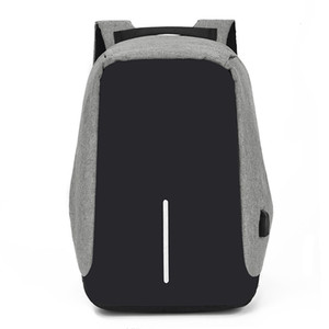 Men and women shoulder bag travel business anti-theft security luminous men's computer backpack student bag free shipping