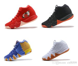 HOT Zoom 4s Basketball Shoes Mens Irving 4 Athletic shoes fashion luxury All-Star Sport Training Sneakers high quality designer shoes US7-12