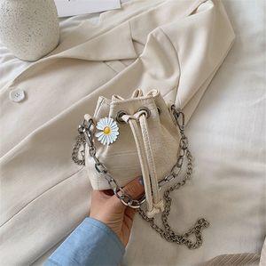 2020 New Textured Fashion Niche Textured Stone Mini Bucket Bag Shoulder Crossbody PH-CFY2006012
