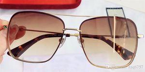 جديد مصمم الأزياء النظارات الشمسية 2205 فرملس مربع الإطار uv400 حماية نظارات شعبية أسلوب بسيط أعلى جودة مع المربع الأصلي