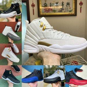 12s ventas Zapatos Winterized WNTR Gimnasio Rojo Michigan baloncesto del Mens el maestro Juego de la gripe Taxi OVO blanca Jumpman 12 hombres Entrenadores Designer Shoes