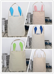 Easter Bunny Bag Easter Decorations For Home Cute Rabbit Ears Bag Party Gifts for Kids Easter Candy Gift Bags k761