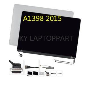 Envío gratis de China para Apple MacBook Pro A1398 EMC 2909 2910 Retina LCD Asamblea de pantalla del portátil mediados de 2015 MPN 661-02532