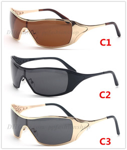 Siamese New Polarized Sport Sunglasses for Men and Women Outdoor Cycling Driving Sun Glasses 4008 Top Quality with Box